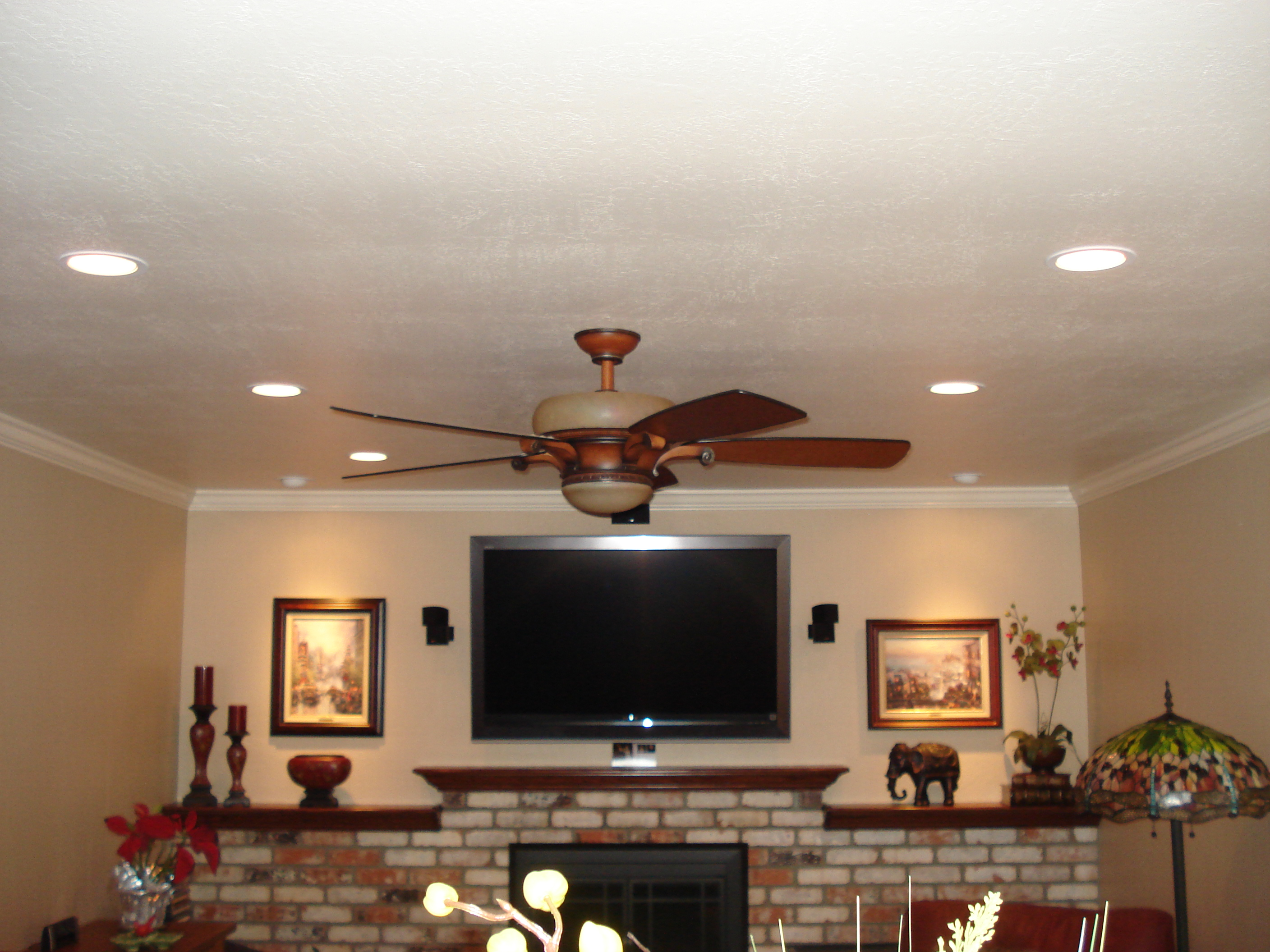 Recess lighting absolute electric for Living room ceiling lights