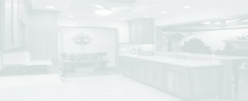 whitened kitchen