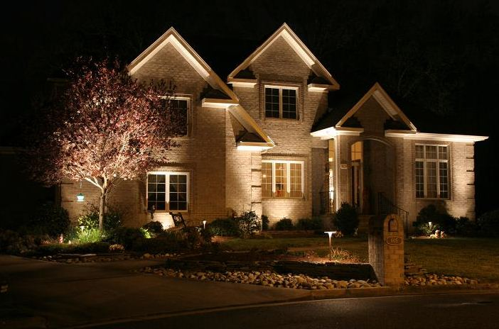 Lighting exterior absolute electric for Outside home lighting