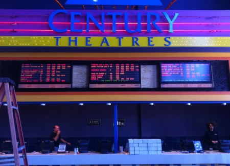 century 25 box office signs