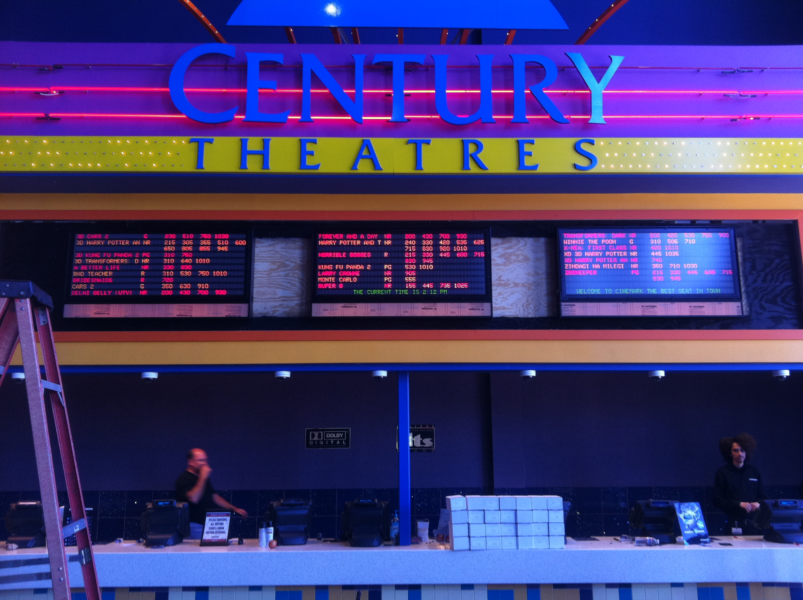 Century 25 Theatres Absolute Electric
